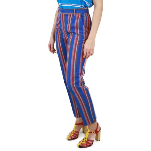 Abbigliamento STELLA JEAN - pantalone capri | OneMore righe blu (2)