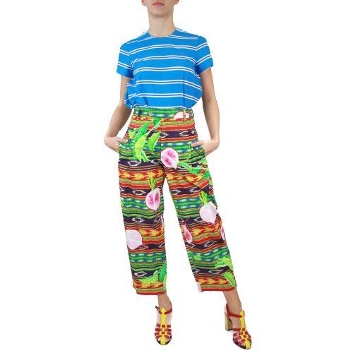 Abbigliamento STELLA JEAN - pantalone con pinces | OneMore verde (1)