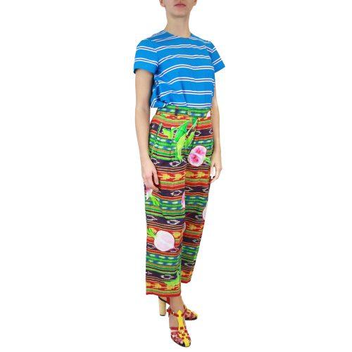 Abbigliamento STELLA JEAN - pantalone con pinces | OneMore verde (2)