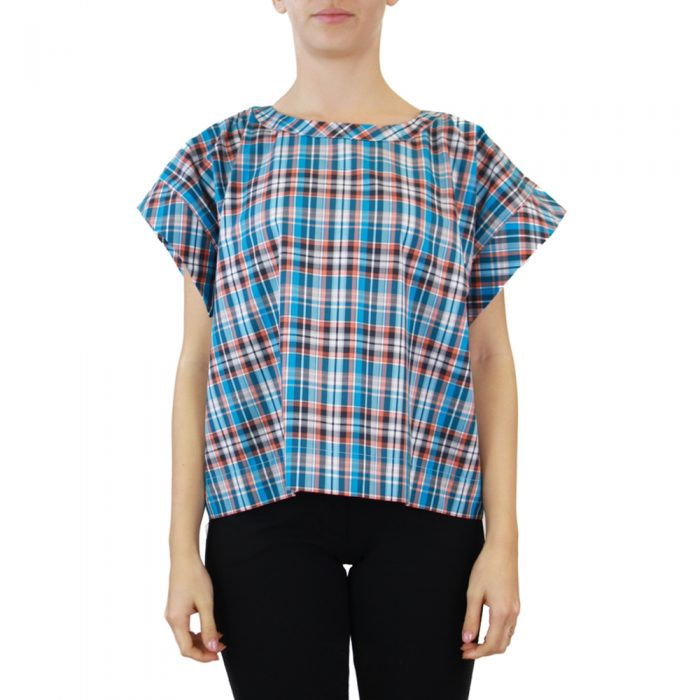 Abbigliamento STELLA JEAN - top girocollo | OneMore blu (1)
