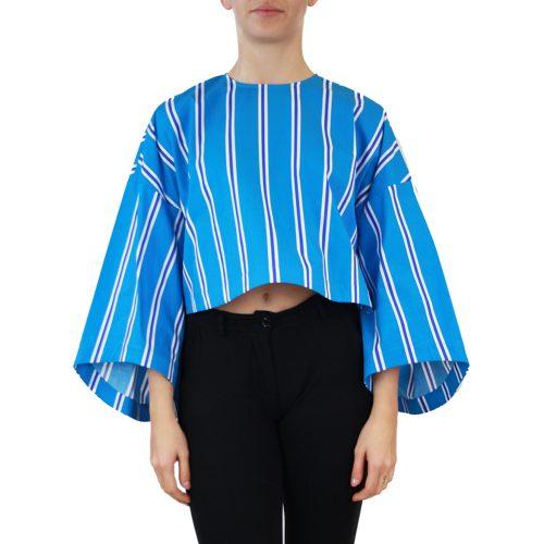 Abbigliamento STELLA JEAN - top manica 3:4 | OneMore azzurro (1)