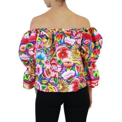 Abbigliamento STELLA JEAN - top manica 3:4 | OneMore fiori (2)
