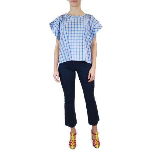 Abbigliamento STELLA JEAN - top manica corta | OneMore azzurro (1)