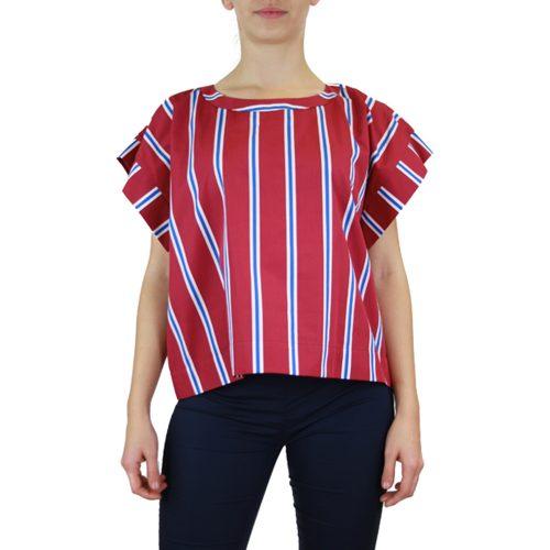 Abbigliamento STELLA JEAN - top manica corta | OneMore bordeaux (1)
