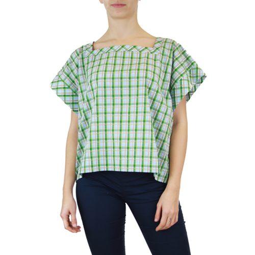 Abbigliamento STELLA JEAN - top manica corta | OneMore verde (1)