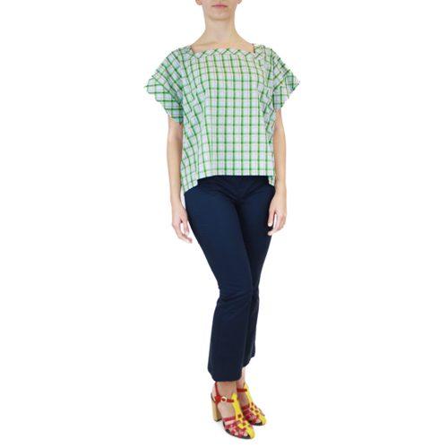 Abbigliamento STELLA JEAN - top manica corta | OneMore verde (2)