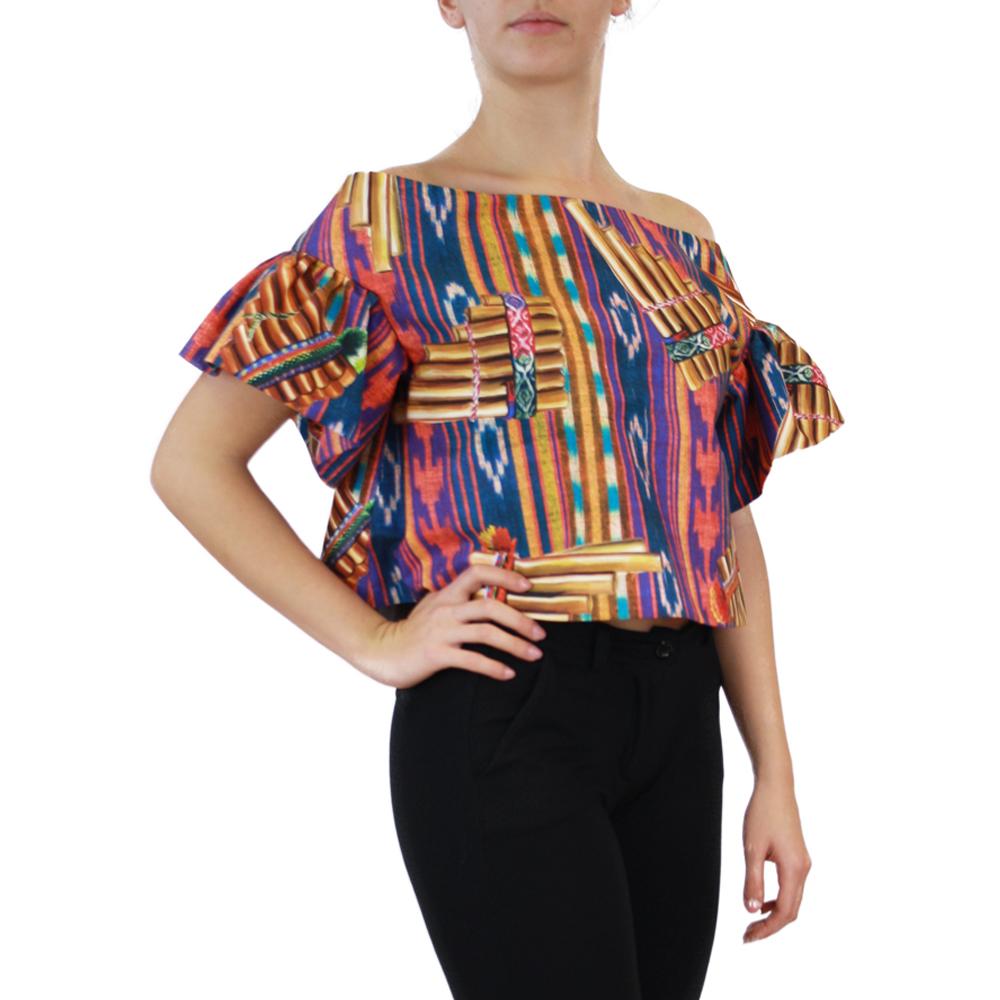 Abbigliamento STELLA JEAN - top scollo a barca | OneMore marrone (2)