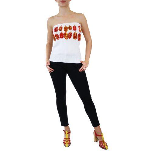 Abbigliamento STELLA JEAN - top senza spalline | OneMore bianco (1)