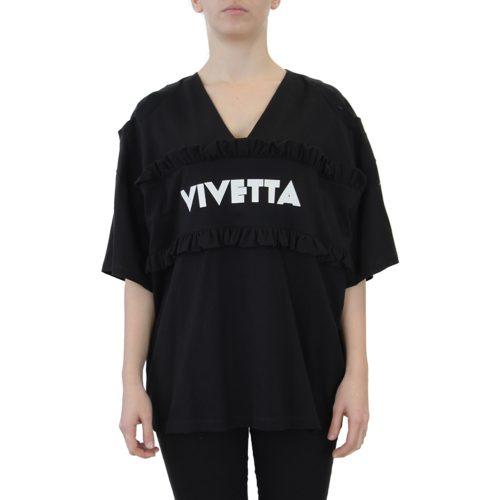 Abbigliamento VIVETTA - felpa dettaglio rouches | OneMore