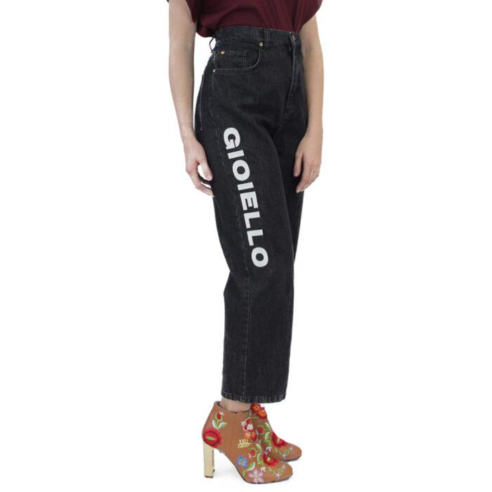 Abbigliamento COLIAC - jean | OneMore nero con stampa (1)