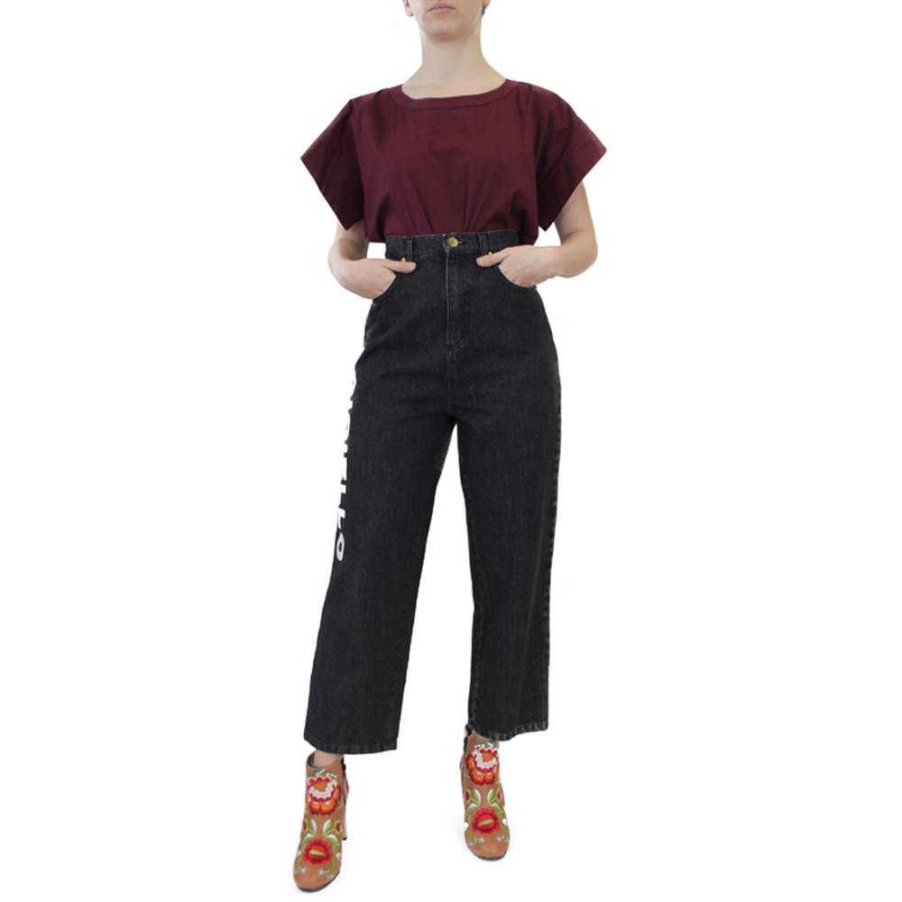 Abbigliamento COLIAC - jean | OneMore nero con stampa (2)