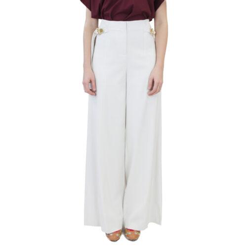 Abbigliamento COLIAC - pantalone ampio bianco | OneMore (1)