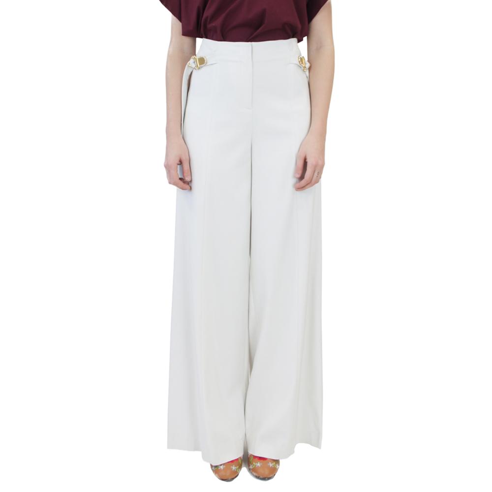 Abbigliamento COLIAC - pantalone ampio bianco   OneMore (1)
