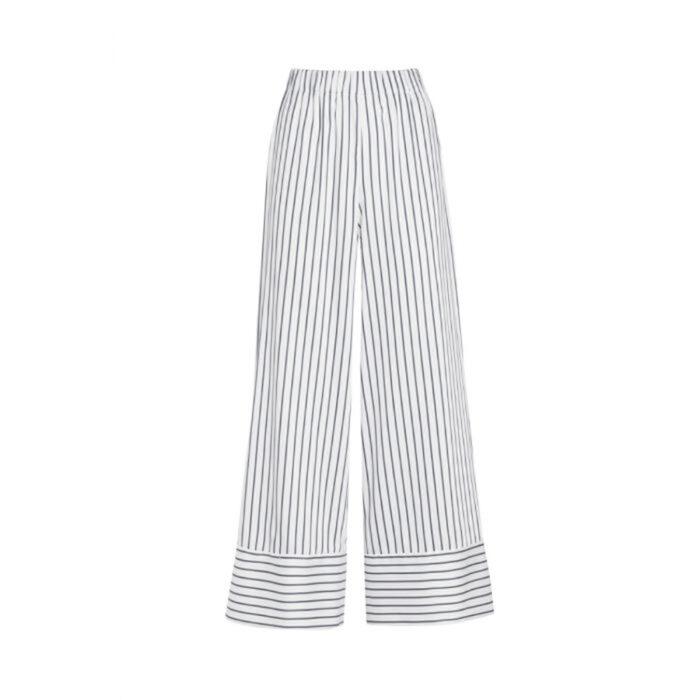 pantalone gessato vivetta